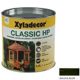 Lazúra na drevo Xyladecor Classic HP jedlová zeleň