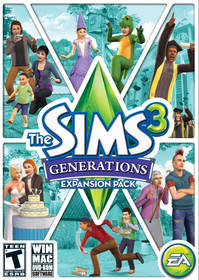 Hra EA PC THE SIMS 3: Hrátky osudu (EAPC051148)