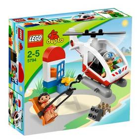 Stavebnice LEGO DUPLO Záchranný vrtulník 5794