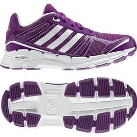 Obuv Adidas adifast K - vel. 6,5 UK biela/fialová