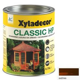 Lazúra na drevo Xyladecor Classic HP kaštan