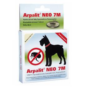 Aveflor Arpalit Neo 7M obojek antiparazitární 66cm, pro psy černé