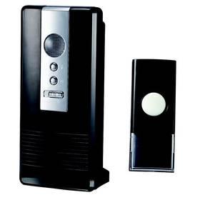 Zvonček bezdrôtový OPTEX 990206, s dlouhým dosahem čierne