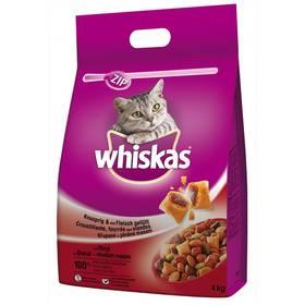 Whiskas s hovězím masem 4kg