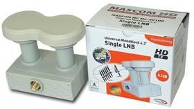 Konvektor Mascom LNB-MCM4S01HD biely