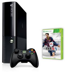 Herná konzola Microsoft Xbox 360 250GB + FIFA 14 (NEW design) (S2G-00096) čierna