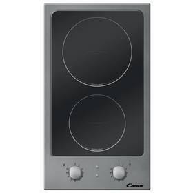 Sklokeramická varná deska Candy CDH 32 X  černá barva/nerez  + Příslušenství k varným deskám za zvýhodněnou cenu