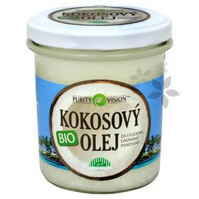 BIO Panenský kokosový olej lisovaný za studena PURITY VISION 300 ml