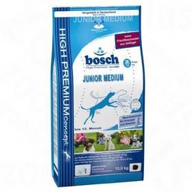 Granule Bosch Junior Medium 15 kg , pro štěňata a rostoucí psy středně velkých ras