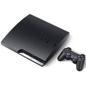 Hern konzole Sony PS3 160GB ern
