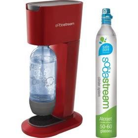 Výrobník sodové vody SodaStream GENESIS CHILLY RED  červená barva