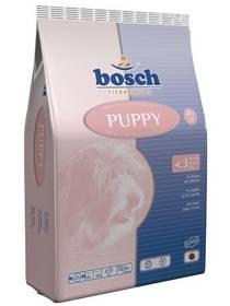 Granule Bosch Puppy 15 kg , pro štěňata od 3. týdne věku až do období přechodu na krmiva pro rostoucí štěňata.