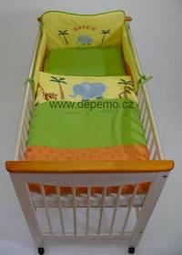 Dětské povlečení DREWEX Safari  zelená barva