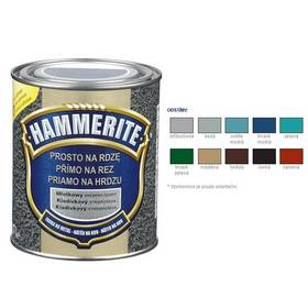 Farba Hammerite přímo na rez, kladívkový tmavě zelený