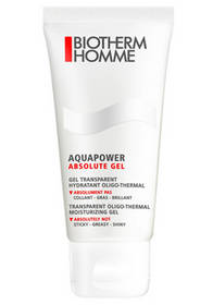Hydratační gel pro muže Aquapower Absolute Gel (Transparent Oligo-Thermal Moisturizing Gel) 100 ml