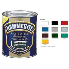 Farba Hammerite přímo na rez, hladký červený