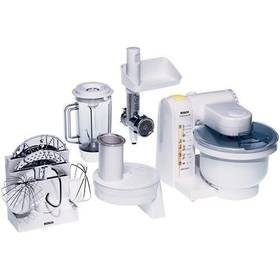 Kuchyňský robot Bosch MUM4655 bílý/kov/plast