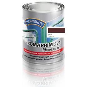 Farba Hammerite Komaprim 2v1 přímo na rez, hnědý