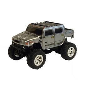 Car Force Hummer 1H2 1:60 stříbrné