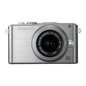 Digitálny fotoaparát Olympus E-PL3 Kit 14-42mm 1:3.5-5.6 II R strieborný