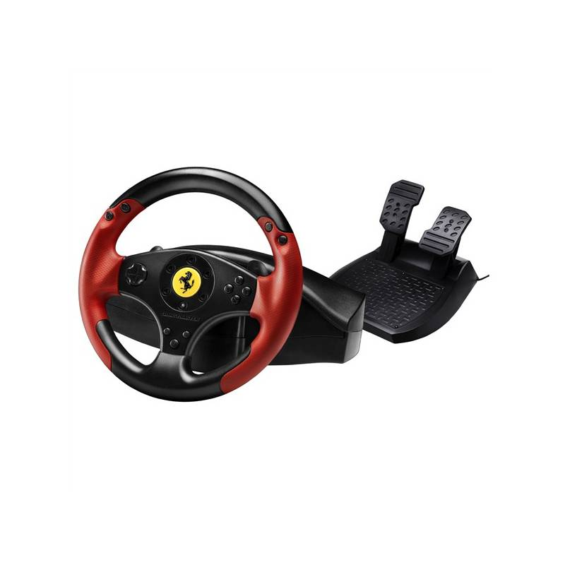 volant thrustmaster ferrari red legend pro pc ps3 4060052 ern. Black Bedroom Furniture Sets. Home Design Ideas