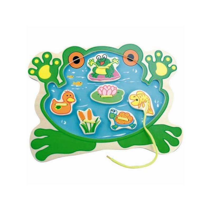 Veselé vyšívání s žábou, želvou a rybkou