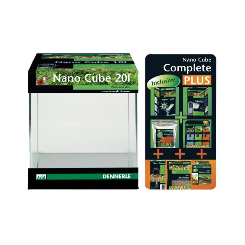 akwarium dennerle dennerle nano cube complete plus 20l. Black Bedroom Furniture Sets. Home Design Ideas