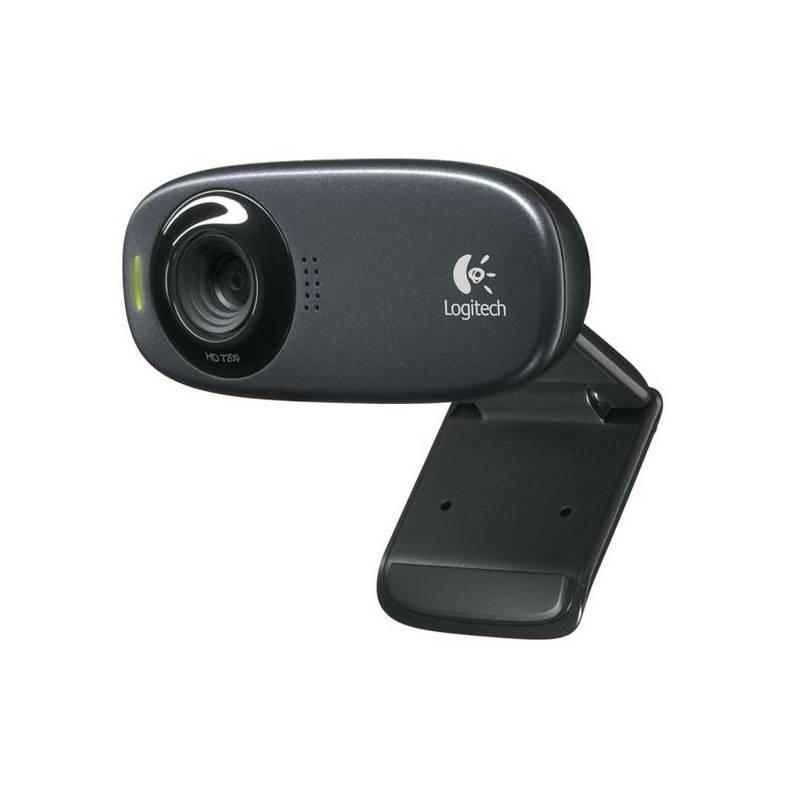 Webkamera Logitech HD Webcam C310 (960-000637) čierna | HEJ.sk