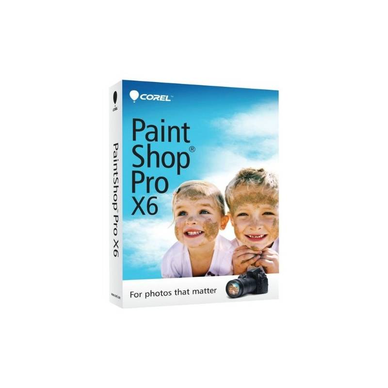 oprogramowanie corel paintshop pro x6 mini en box pspx6iembeu. Black Bedroom Furniture Sets. Home Design Ideas
