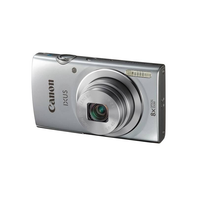 Digitálny fotoaparát Canon IXUS 145 IS sivý