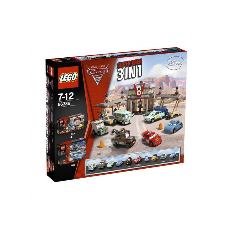 Lego cars2 http www hej sk stavebnice lego cars 2 66386 superpack