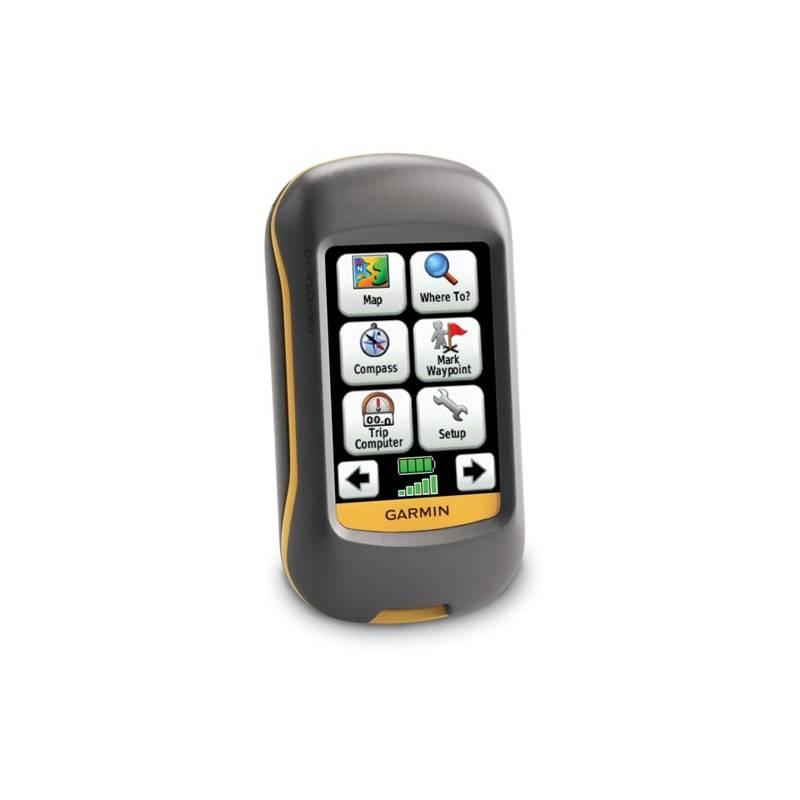 Navigačný systém GPS Garmin Dakota 10 sivá/oranžová