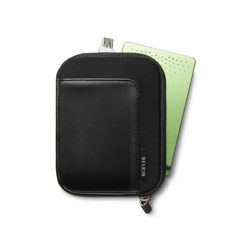 "Puzdro na HDD Belkin neopren/kůže 2,5"" HDD (F8N158ea001) čierne"