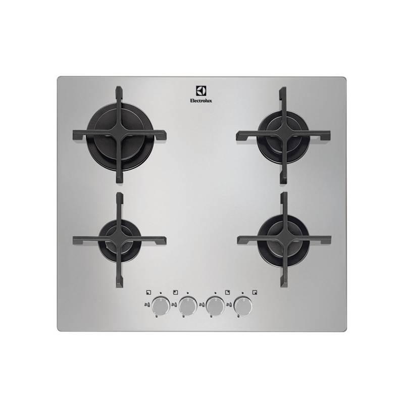 Płyta gazowa Electrolux EGT46342NX INOX Szklana  EUKASA pl -> Plyta Gazowa Do Zabudowy Szklana Opinie