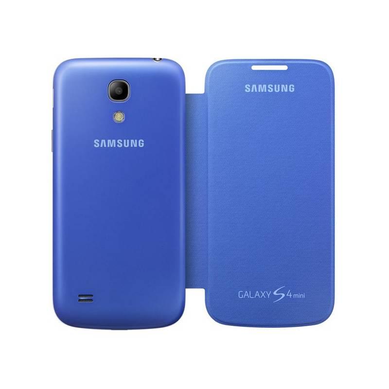 Puzdro na mobil flipové Samsung pro Galaxy S4 mini (EF-FI919BC) (EF-FI919BCEGWW) modré