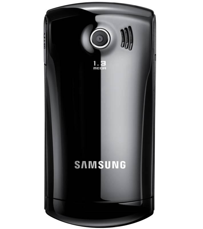 Mobilný telefón samsung monte slider (e2550) strong čierny