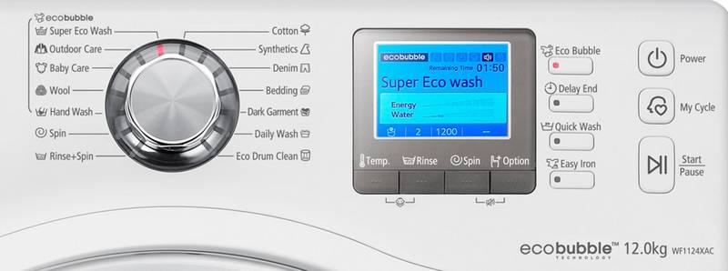 Automatick pra ka samsung wf1124xac st brn b l - Technologie eco bubble ...