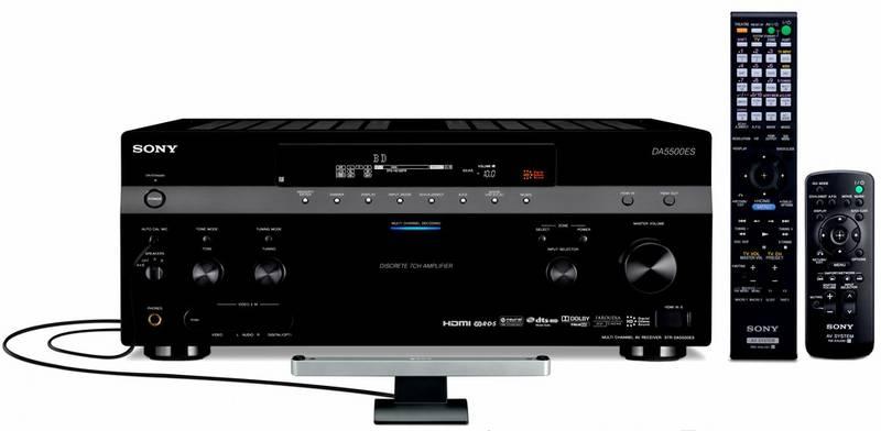 AV Receiver Sony STR-DA5500ES stříbrný