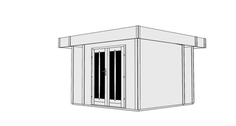 z hradn dom ek karibu multi cube 2. Black Bedroom Furniture Sets. Home Design Ideas