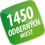 1450 odberných miest