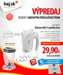 Veľké aj malé domáce spotrebiče so zľavou až 132 €! Hlasujte pre nás na Shop roka
