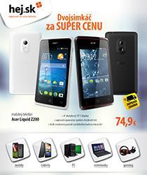 Šikovný dvojsimkáč za 74,90 € s dopravou zdarma a ďalšie skvelé IT produkty!