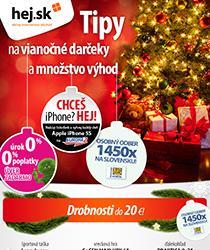 Prinášame tipy na vianočné darčeky a veľa výhod - napríklad splátky s 0% navýšením
