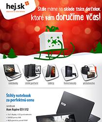 Vianočné darčeky bez obáv! Tovar stále na sklade, doručíme včas. IT a gaming od 17.90 €