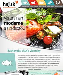 Varte s nami moderne a s radosťou! 6 receptov a tí najlepší pomocníci do kuchyne.