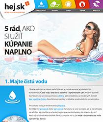 5 rád, ako si užiť kúpanie naplno! Prezradíme vám, ako sa starať o bazén