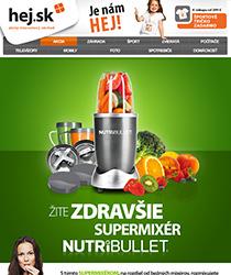 Exkluzívne na Hej.sk! Supermixér NutriBullet, ktorý dostane z ovocia maximum