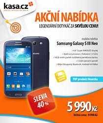 Samsung Galaxy S III Neo se slevou 4000 Kč a dopravou zdarma!