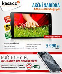 Akční nabídka - tablet LG za skvělou cenu 5990 Kč a dopravou zdarma!