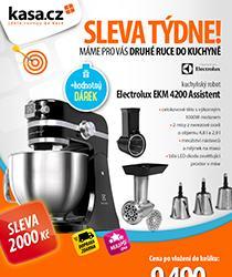 Nejlepší cena kuchyňského robotu Electrolux s dopravou zdarma a hodnotným dárkem!